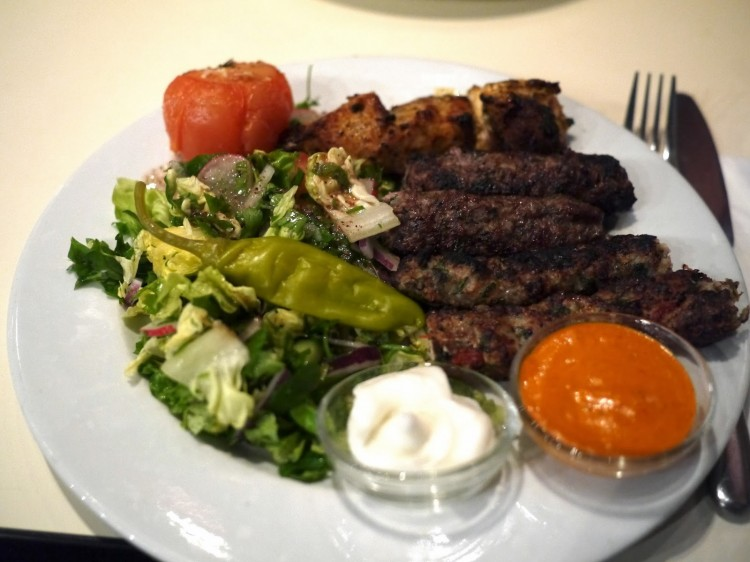 CHICKEN SHISH & LAMB KOFTE