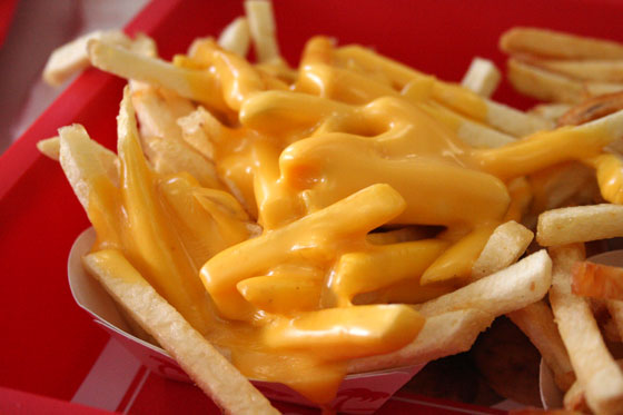 CHEESE & CHIPS